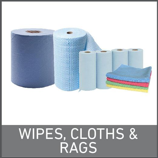 Wipes, Cloths & Rags