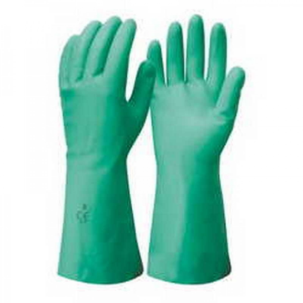 Nitrile Gauntlet Gloves