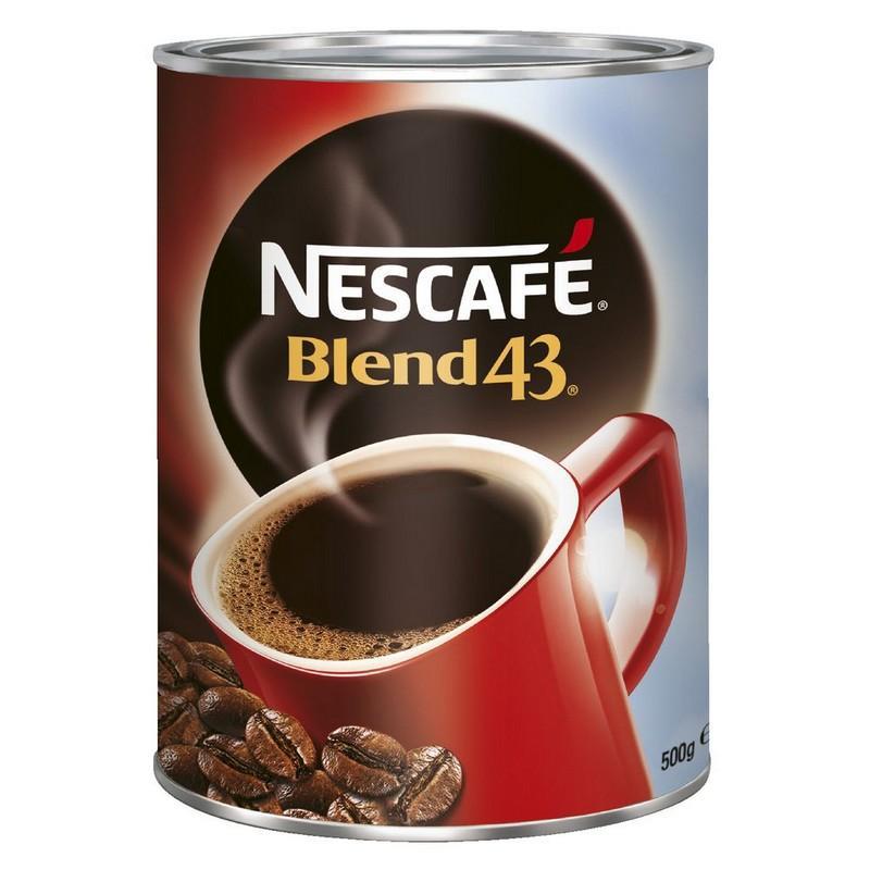 Nestle Nescafe Blend 43 Instant Coffee 500gm  (each)