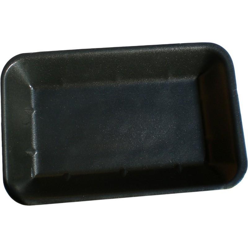Black Foam Tray 7x5 Deep (1000/ctn)