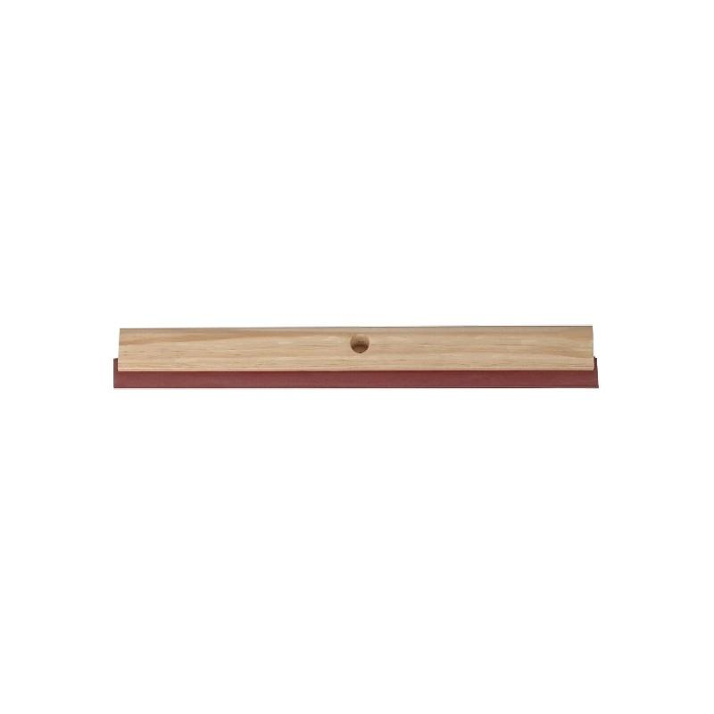 Timber Backed Rubber Floor Squeegee 600mm (each)