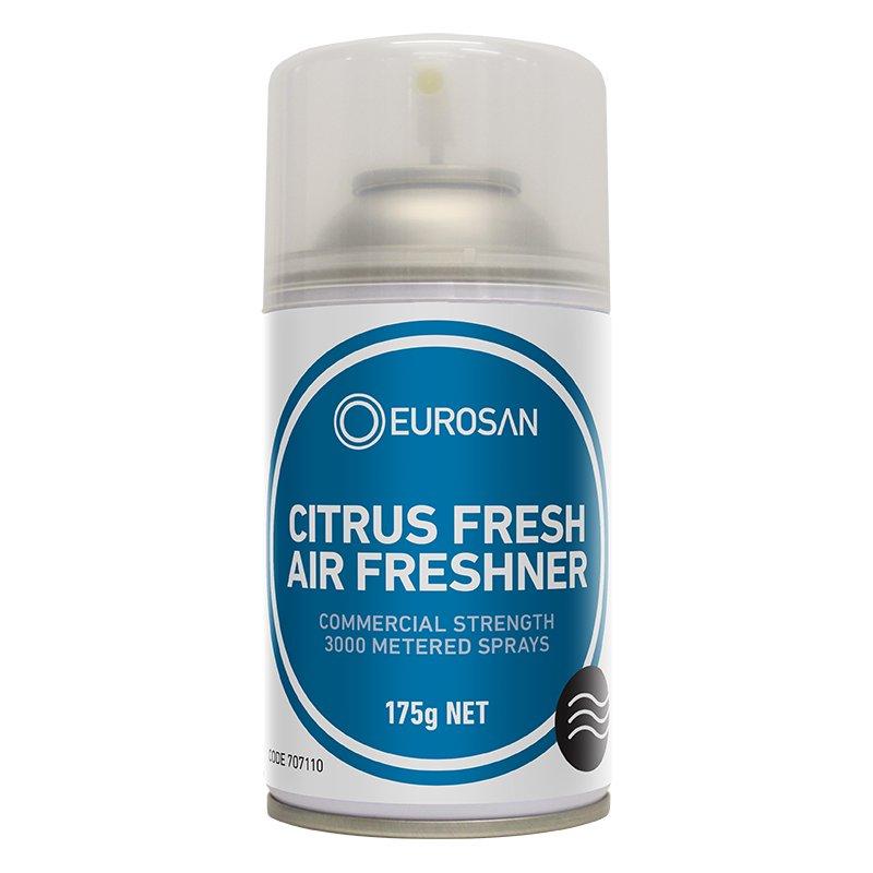 Eurosan automatic air freshener can citrus fresh 175gm - Automatic bathroom air freshener ...