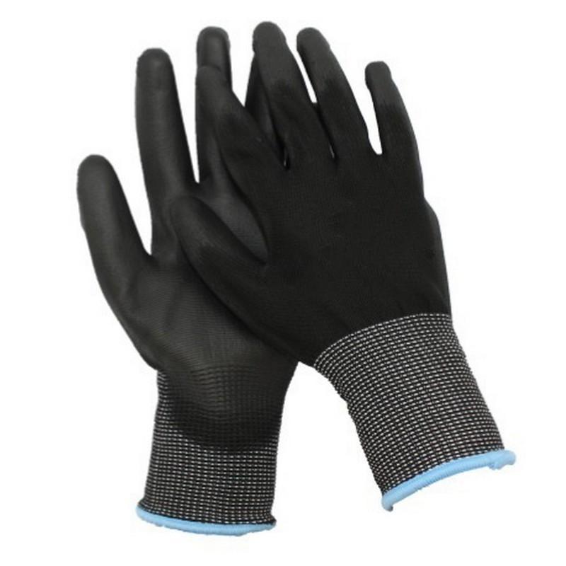 Polyurethane Coated Glove Medium Size 8 (1 pair)