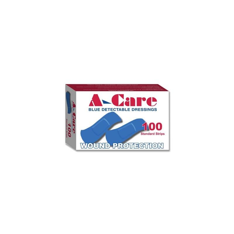 Blue Metal Detectable Band-Aids (100/pack)