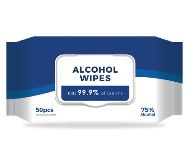 Special - Alcohol Wipes 75%  21cm x 15cm (50/pack)