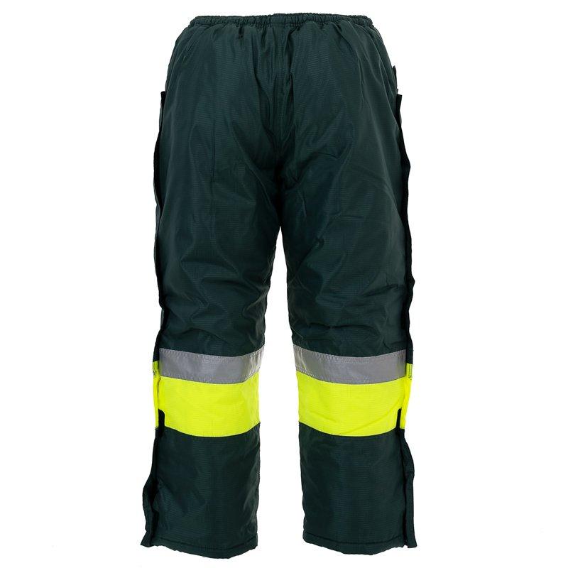 Freezer Trousers Green 4XLarge (Waist 135 145cm) (each)