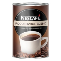 Nescafe Foodservice Blend Instant Coffee 1kg Tin  (each)