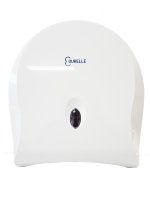 Durelle Single ABS Plastic Jumbo Toilet Roll Dispenser (each)