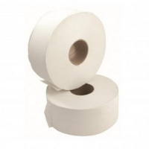 Durelle Eco Jumbo Toilet Rolls 1 Ply 500m (8 rolls/bale)