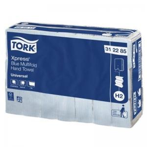 Tork Blue Slimline H2 24cm x 21cm (21x230 sheets)