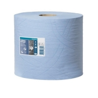 TORK 3ply Advanced Perforated Centrefeed Blue Wiper 34 x 32cm 350 sheets/roll (2