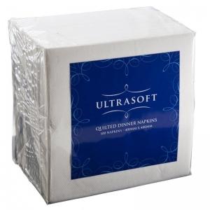 2 Ply Dinner Napkins 1/8 Fold White (1000/ctn)