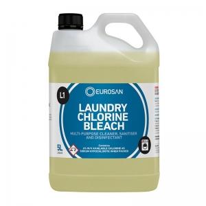 Eurosan L1 Laundry Chlorine Bleach AM (2 x 5ltr)