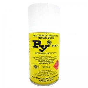 Pymatic Metered Fly Spray Aerosol 150gm (12/ctn)