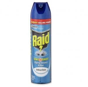 Raid Odourless Fly Spray 320gm  (each)