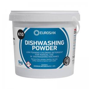 Eurosan K10 Dishwashing Powder 5kg (each)