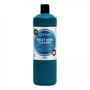 Eurosan G7 Toilet Bowl Cleaner Labelled Green Bottle & Flip Lid 1000ml (each)