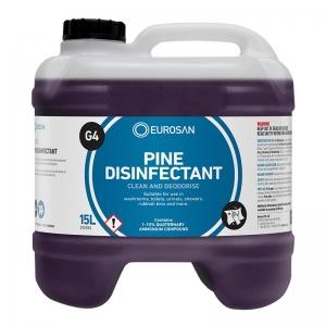 Eurosan G4 Pine Disinfectant 15L (each)