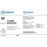 Eurosan Label G2 Cleaner Degreaser (to suit 500ml-1000ml Bottle) (each)
