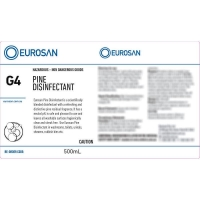 Eurosan Label G4 Pine Disinfectant (to suit 500ml-1000ml Bottle) (each)