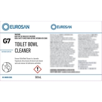 Eurosan Label G7 Enviro Toilet Bowl Cleaner  (to suit 500ml-1000ml Bottle) (each
