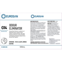 Eurosan Label G14 Odour Eliminator  (to suit 500ml-1000ml Bottle) (each)