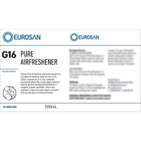 Eurosan Label G16 Pure Airfreshener  (to suit 500ml-1000ml Bottle) (each)