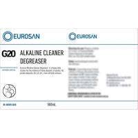 Eurosan Label G20 Alkaline Cleaner Degreaser  (to suit 500ml-1000ml Bottle) (eac