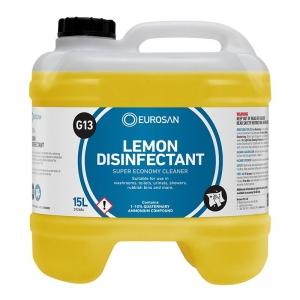 Eurosan G13 Lemon Disinfectant 15ltr (each)