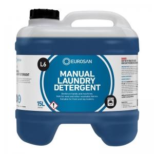 Eurosan L6 Manual Laundry Detergent 15L (each)