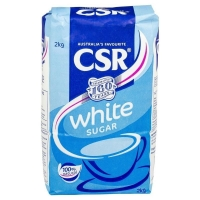 CSR/Bundaberg White Sugar 2kg (each)
