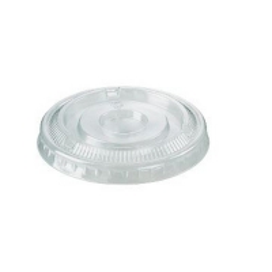 Hikleer PET Plastic Flat Lids to suit 200ml - 225ml Cups (1000/ctn)