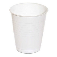 Premium White Plastic Water Cups 180ml/6oz (1000/ctn)