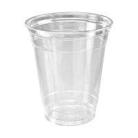 Clear Plastic Cups 10oz/285ml (50/sleeve)