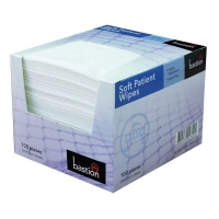 Soft Patient Wipes White 30cm x 33 cm 100sheet (8pack/ctn)