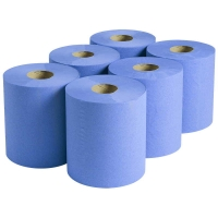 Durelle Ultimate Blue Auto Cut Roll Towel 21cm x 150m 2ply (6/pack)