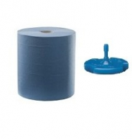 Durelle Ultimate Blue Auto Cut Roll Towel with H1 Plug 21cm x 150m 2ply (6/pack)