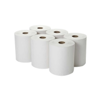 Durelle Premium White Auto Cut Roll Towel 21cm x 250m 1ply (6/pack)