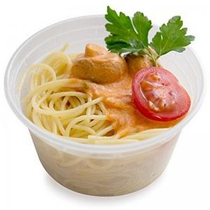 Clear Round Plastic Lids to suit 220 - 850ml (500/ctn)