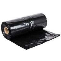 240L Extra Heavy Duty Black Bin Liners (100/roll)