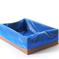 Durapak Heavy Duty Carton Liner 630 x 630 x 380mm Blue (500/ctn)