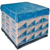 CPE Elasticised Pallet Top Cover Blue 1400mm x 1400mm (50/ctn)