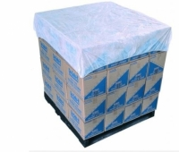 Breathable Polypropylene (PP) Elastic Pallet Top Cover White 1400mm x 1400mm (50