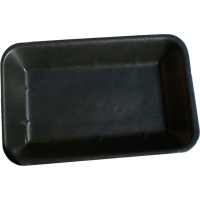 Black Foam Tray 7x5 Deep (1000/ctn)