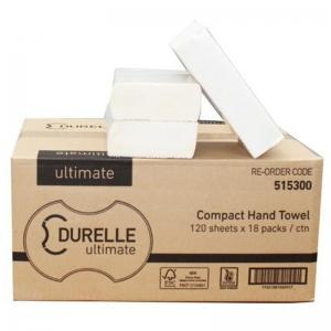FSC Mix Durelle Ultimate Compact Hand Towel 19 x 26.5cm (18 x 120 sheet)
