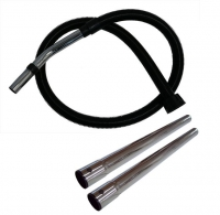 Numatic Complete Vacuum Hose & Chrome Wands 32mm for Henry, Charles & George (ea