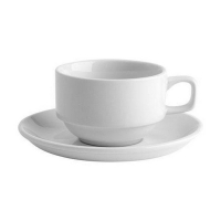 AFC Bistro Stackable Tea Cup 220ml (36/ctn)