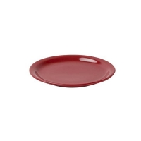 AFC Red Narrow Rim Plate - 225mm (12/ctn)