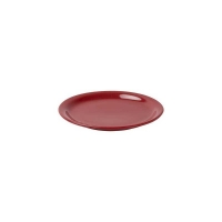 AFC Red Narrow Rim Plate - 205mm (12/ctn)