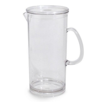 Poly Carbonate Pitcher/Jug With Lid 1000ml/32oz (6/ctn)